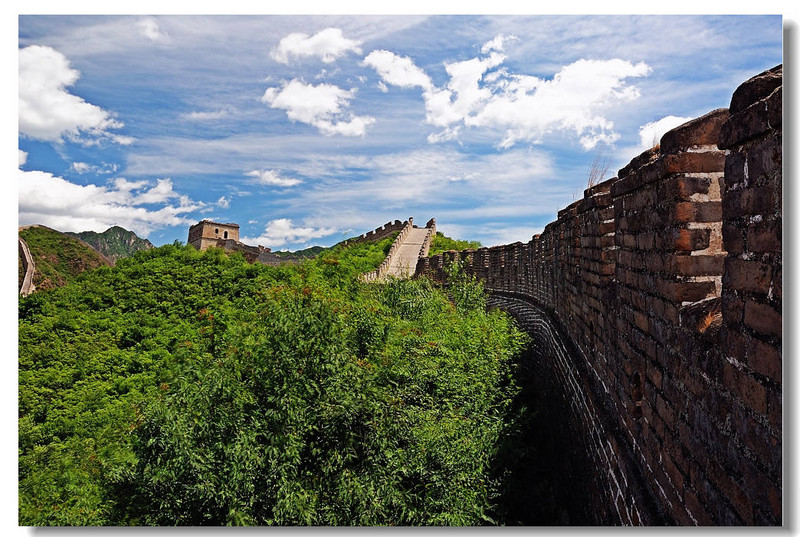 Huanghuacheng Great wall hike