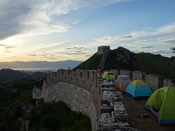 """            Great wall camping                   """