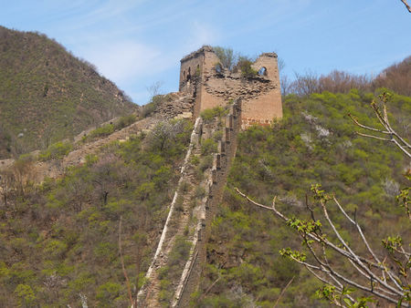 Qiangzilu Great wall hike