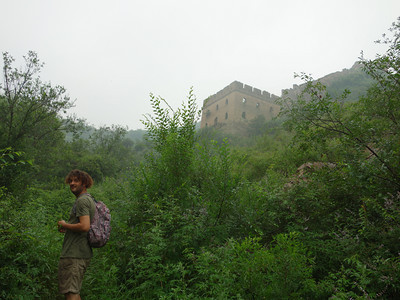 Gubeikou Great wall hike      July.Photo 150