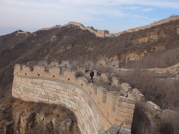 Great wall hiking trekking in Beijing