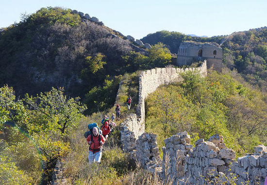 Border Defense Great Wall trekking