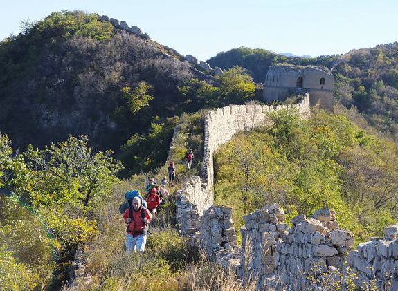 hike the great wall beijing