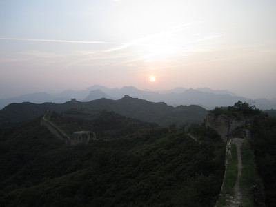 Gubeikou Great wall hike      Aug.Photo 100