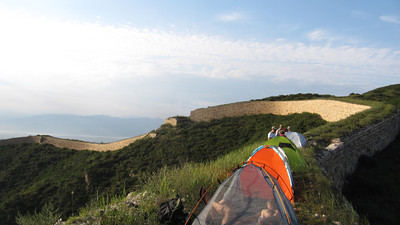 General Xu great wall     camping  June Photo 280