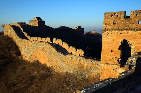 Jinshanling Great wall trekking