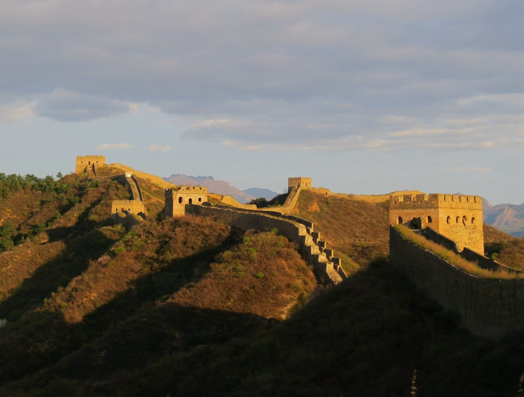 Jinshanling Great wall Trek