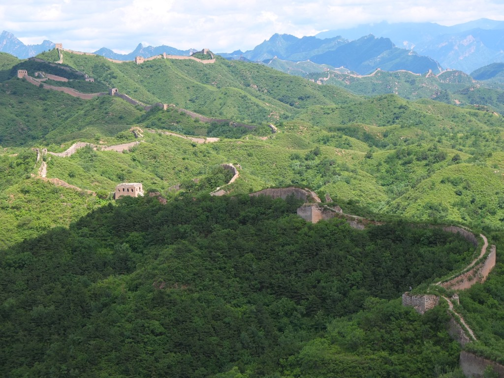 The full 6 km of Gubeikou Great Wall we hike on this trip