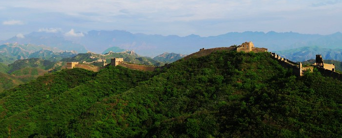 Great wall trekking ,wild Great wall
