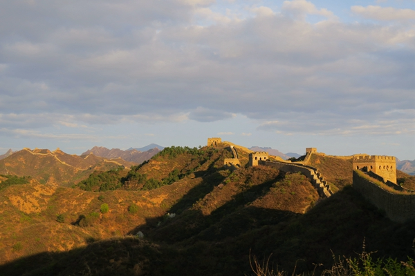 Jinshanling to Simatai Great wall hiking