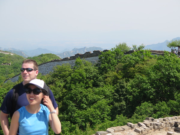 Jiankou to mutianyu , Great wall hike