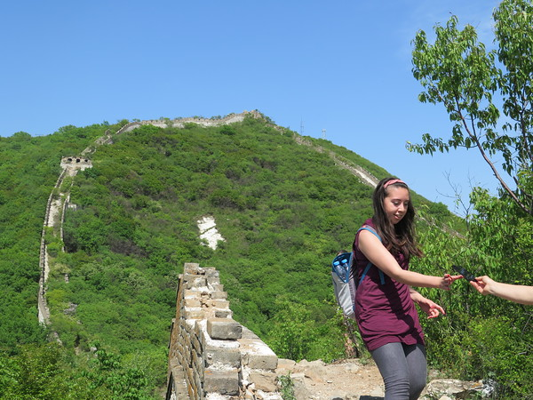 hike the Great wall in Beijing