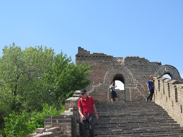 Jiankou Great wall hiking