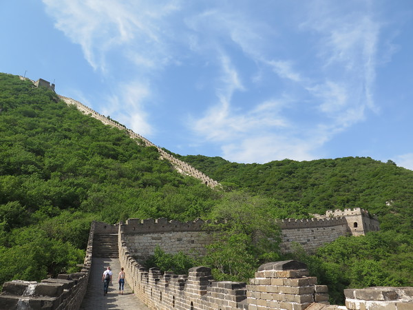 Great wall hiking in Beijing