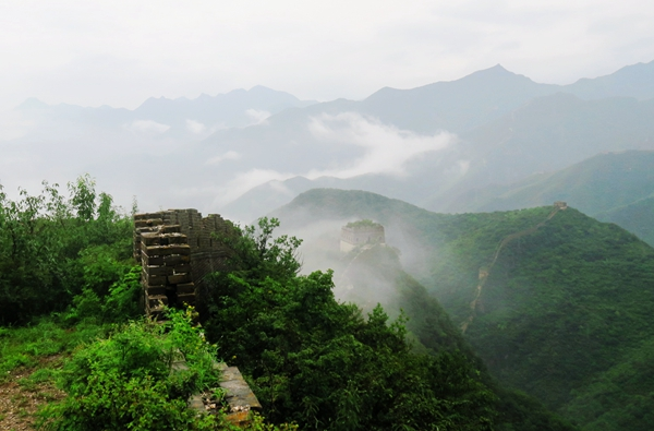 Great wall trekking
