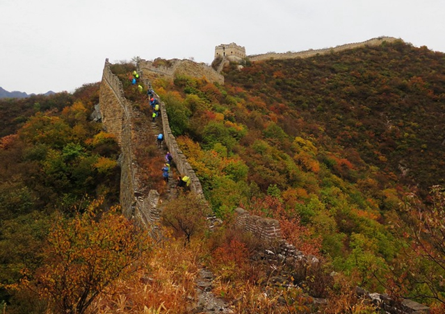 Great wall hiking, Great wall trekking