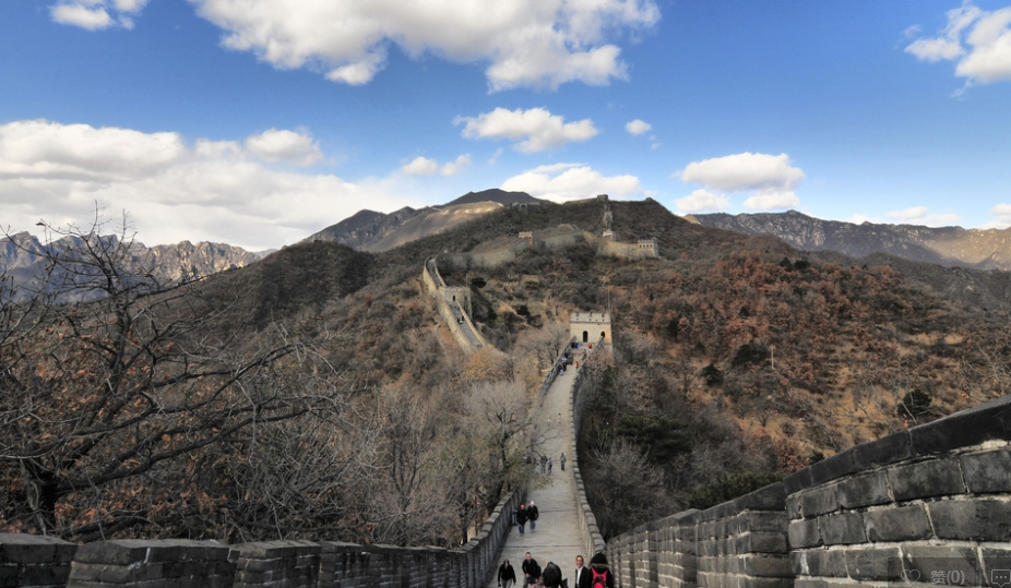 Hike the Great Wall at Mutianyu