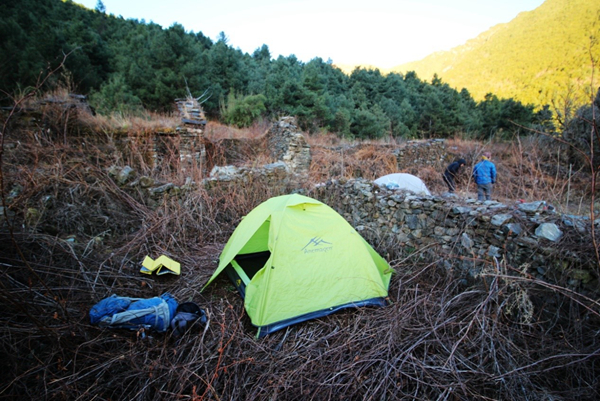 hiking and camping in Dali;hiking camping in Yunnan Province;